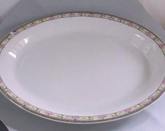 VHB-0003, Vintage Ceramic Serving Platter