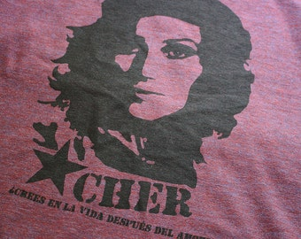 DISCONTINUED!!! CHER Guevara Racerback Tank