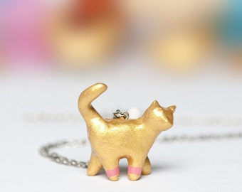 Le Cat Chroma Totem Necklace by le animalé - Made to Order
