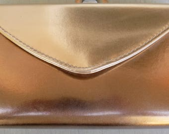 Vintage Gold Lame Purse