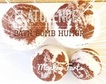 Flatulence Bath Bomb, Bath Bomb Humor, Monkey Farts Bath Bomb, Vegan Bath Bomb, Cruelty Free Bath Bomb, Spa Bath Bomb