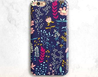 Floral iPhone X Case, Floral iPhone 7 Case, iPhone 8 Case, iPhone 5S, iPhone SE Case,Floral iPhone 8 Plus Case,Flowers 7 Plus, 6 Plus case
