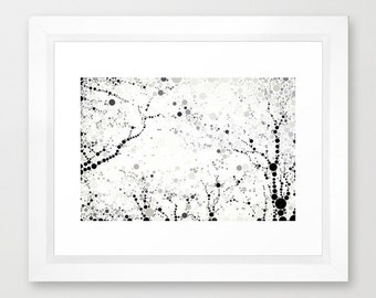 Made In Central Park Circle Art Print