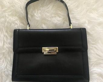 Adrienne Vittadini Vintage Structured Handbag Purse