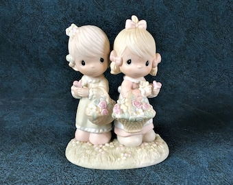 Vintage Precious Moments Figurine, To My Friend Forever 1985