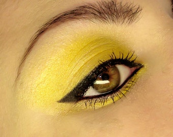 TART Yellow Mineral Pigment Eyeshadow Vegan Lemon
