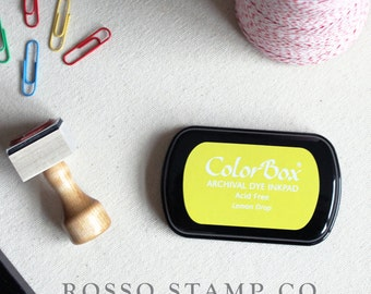 Yellow Drop Ink Pad - ColorBox Archival Ink Pad - Yellow Ink Pad