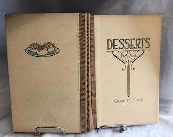 Olive M. Hulse Dessert Cookbook