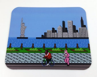 NES Mouse Pad - Mike Tyson's Punch Out
