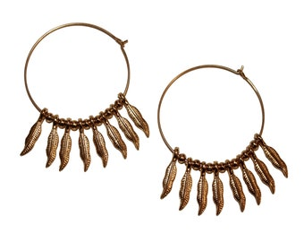 Light as a Feather Hoops