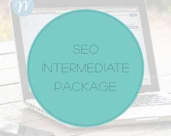 SEO Intermediate Package - Custom SEO - On Page Search Engine Optimization - Online Marketing for Wordpress, Blog, Medium Businesses