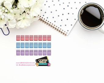 Planner Stickers |Calculator Stickers| Finance Stickers|Bill Due Reminder|Payment Reminder Stickers|Mini Sheet Calculators