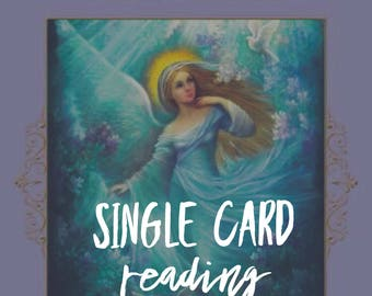One Single Card Reading **Same Day**