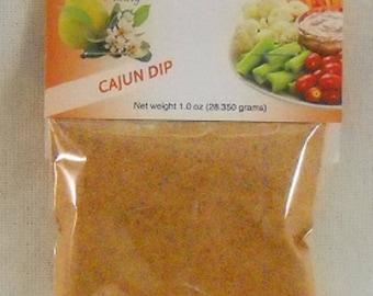 Cajun Dip and Seasoning Mix Spicy Game Snacks Favors