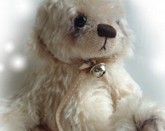 Petal artist bear epattern by Jenny Lee of jennylovesbenny boutique bears