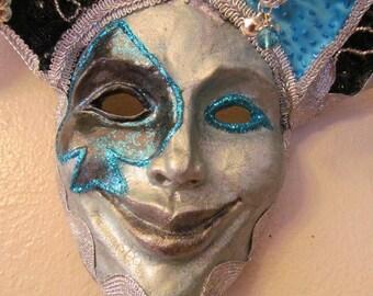 Sculpture - Venetian Carnival Decor - Jester of Spades