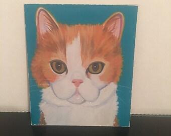 Vintage Cat Magnet