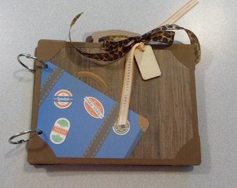 Suitcase Travel Mini Album