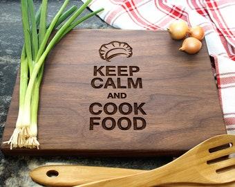 Personalized Cutting Board - Engraved Cutting Board, Custom Cutting Board, Foodie Gift, Housewarming Gift, Wedding Gift, Engagement (01)