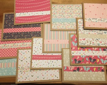 Spring themed Paper notecard set