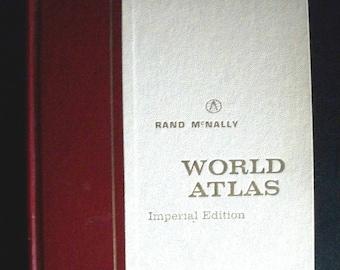 Rand McNally World Atlas Imperial Edition