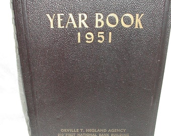 1951 Order and Appointment Book Vintage Salesmen Notebook