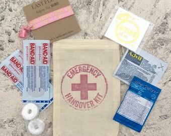 Set of 10 hangover kit bags