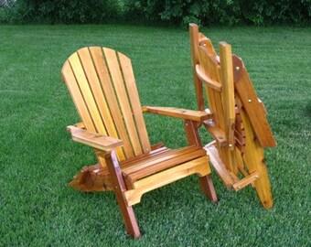 Amish Crafted Folding Adirondack Chair