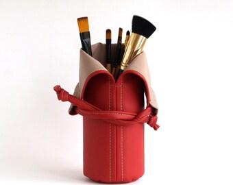 Makeup Brush Holder Makeup Storage Womens Gift For Her Travel Makeup bag Makeup Brush Roll Makeup Brush Bag Cosmetic bag Makeup Tools