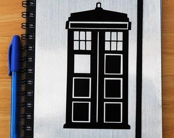A5 hardback TARDIS notebook