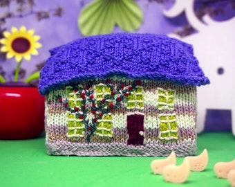 Rose Cottage- Knitting Pattern