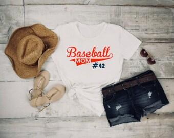 Baseball Mom Shirt, Baseball Shirt,Baseball mom, Proud baseball mom, baseball tee, mom tee, baseball team shirt, baseball mom gift, ball tee