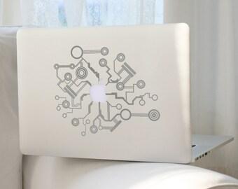 MacBook Sticker Circuit Board, Laptop sticker, Vinyl sticker, MacBook Pro sticker,MacBook decoration,MacBook accessory