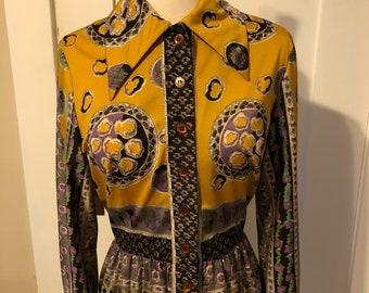 Vintage 1960s Oscar De La Renta Dress