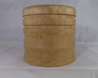 Sassafras Wood Large Candle Holder