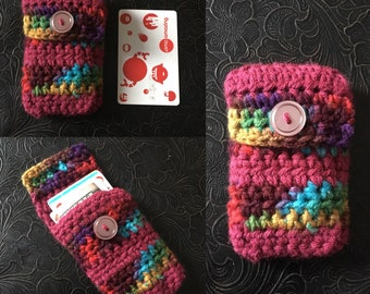 Crocheted Slim Pocket Wallet