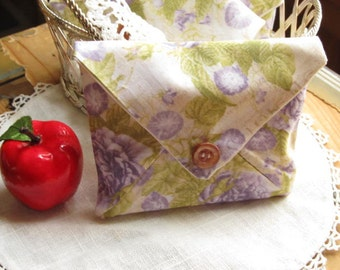 Lavender Drawer Sachet, Volunteer Appreciation Gift, Hostess or BFF Gift, Scented Gift for Mom, Sach35