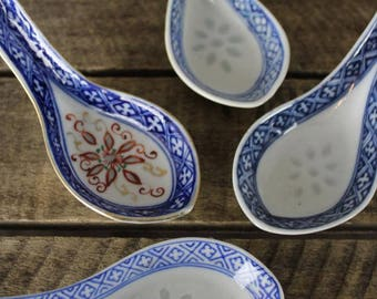 4 Chinese Spoons
