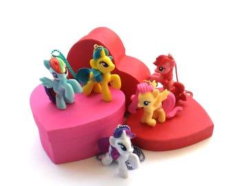 My Little Pony Necklace | MLP Necklace | MLP | Lemon Hearts | Pepperdance | Firecracker Burst | Friendship is Magic