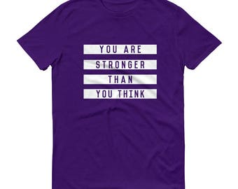 FACT goods Men's You are Stronger than You Think Short-Sleeve T-Shirt