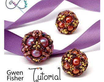 TUTORIAL Collection Cluster Beaded Beads Cube, Octahedral, Star, and Sea Star
