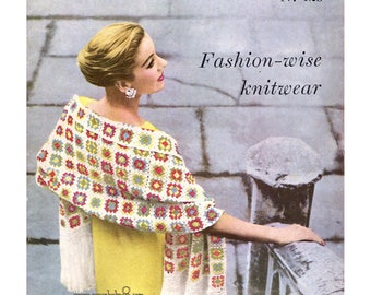 ebook , Vogue knit #128 in PDF instant download version , knitting and crochet ebook vintage