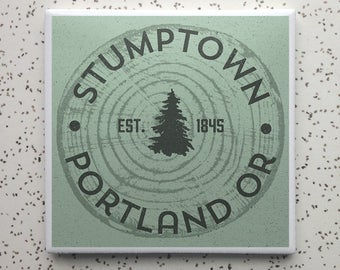 Pine State Portland OR Coaster