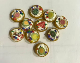 Miniature Round Assorted Fruit Tarts
