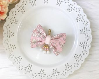 Liberty of London Fabric Bow in Capel Pink