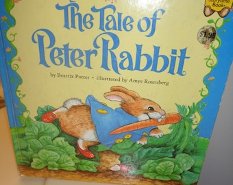 1982 The Tales of Peter Rabbit HB Book by Beatrix Potter Illustrations by Amye Rosenberg