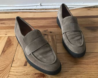 Vintage Taupe Robert Clergerie Loafers / 41 / 10