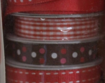 American Crafts - Elements Ribbon - Red