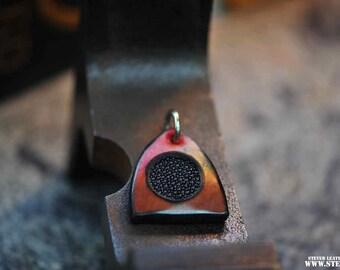 Beaded Manta Ray, Keychain bangers