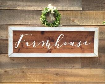 Farmhouse Sign, vintage Home Decor